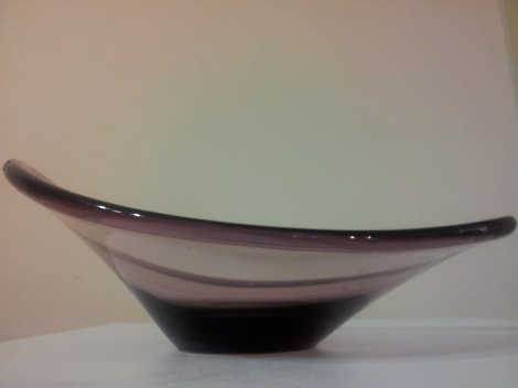Purple-curved-glass-bowl-vintage-and-antique-collectibles-available-in-Canberra-at-the-Lost-and-Found-Office