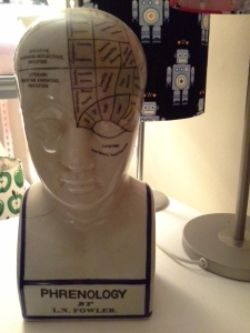Fowler's Phrenology head