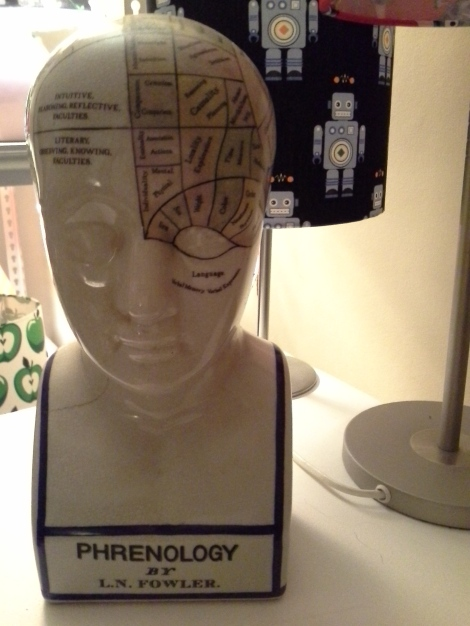 A-ceramic-phrenology-head-by-LN-Fowler-vintage-and-antique-collectibles-available-in-Canberra-at-the-Lost-and-Found-Office
