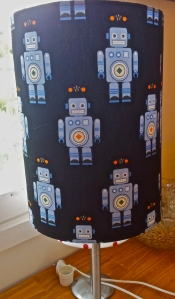 handmade-robot-lampshade-in-blue-and-black-created-at-the-Lost-and-Found-Office-Canberra