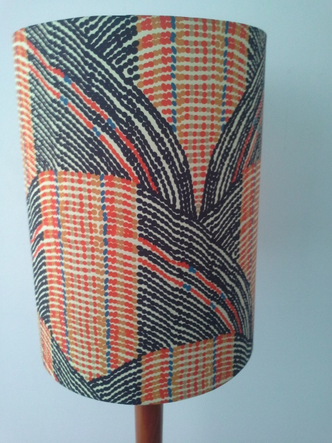 Zulu-inspired-funky-lampshade-designer-fabric-Six-Hands-handmade-lampshade-by-The-Lost-And_Found-Office-canberra-Queanbeyan